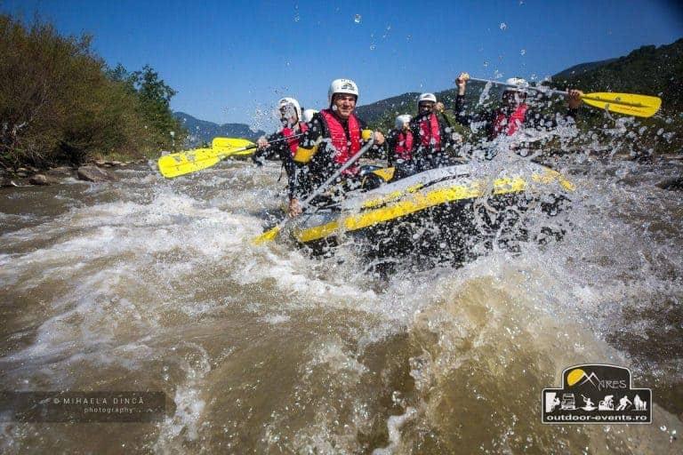 rafting buzau cu echipa valea lupului