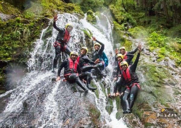 Canyoning Porumbacu