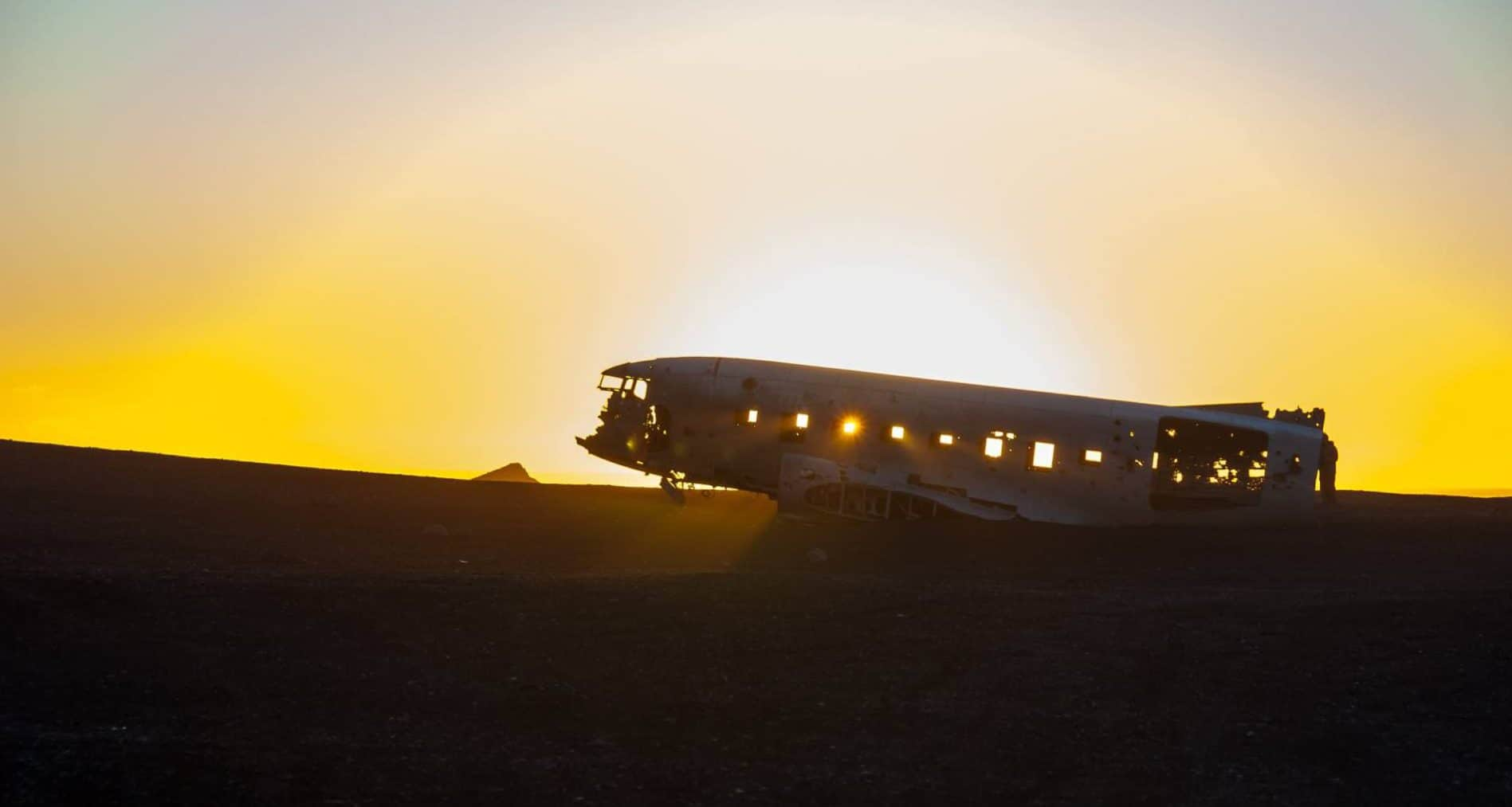 Islanda avion MOE
