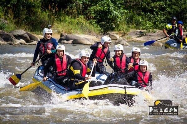 teambuilding outdoor events rafting raul buzau