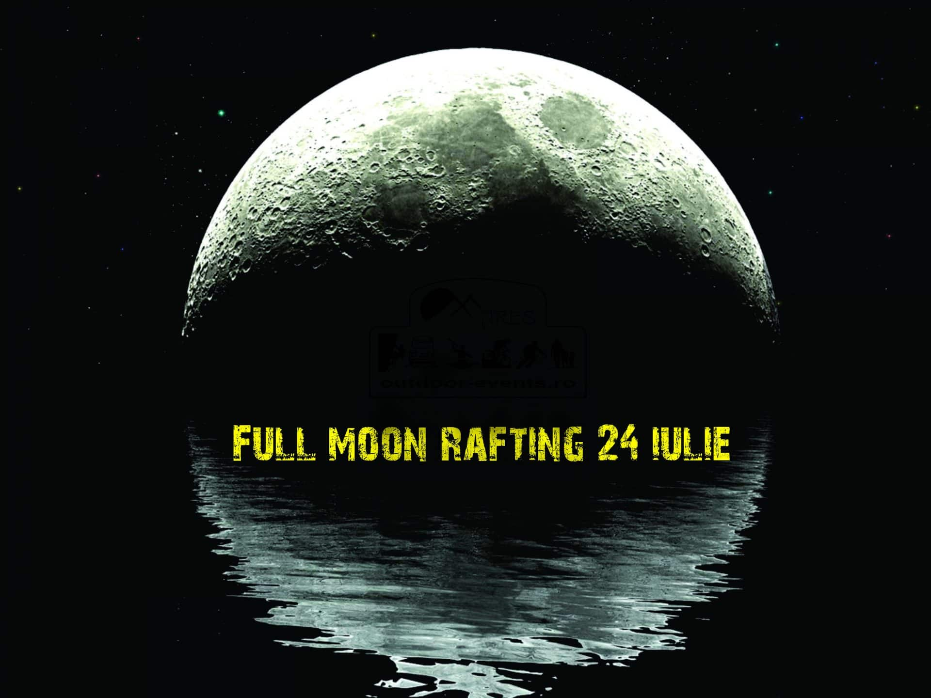Full Moon rafting Outdoor-Events.ro