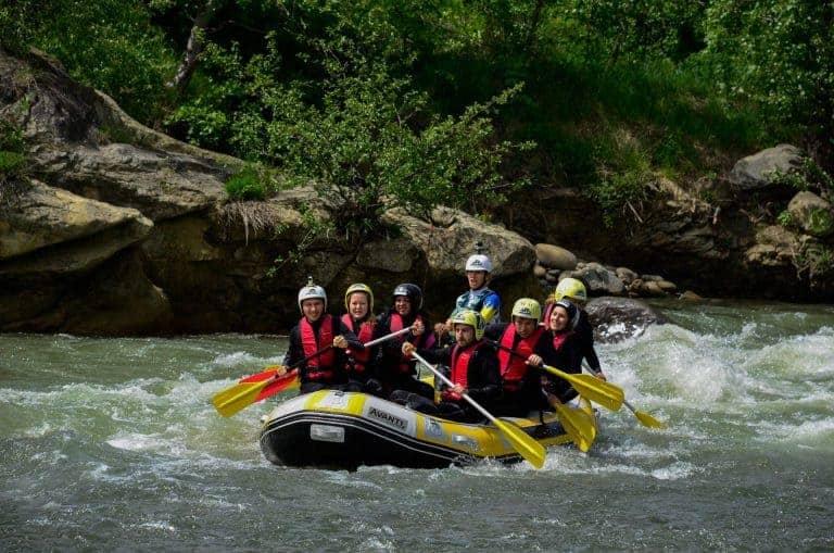 rafting buzau